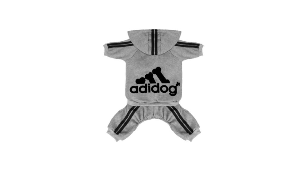 Adidog pet clothes