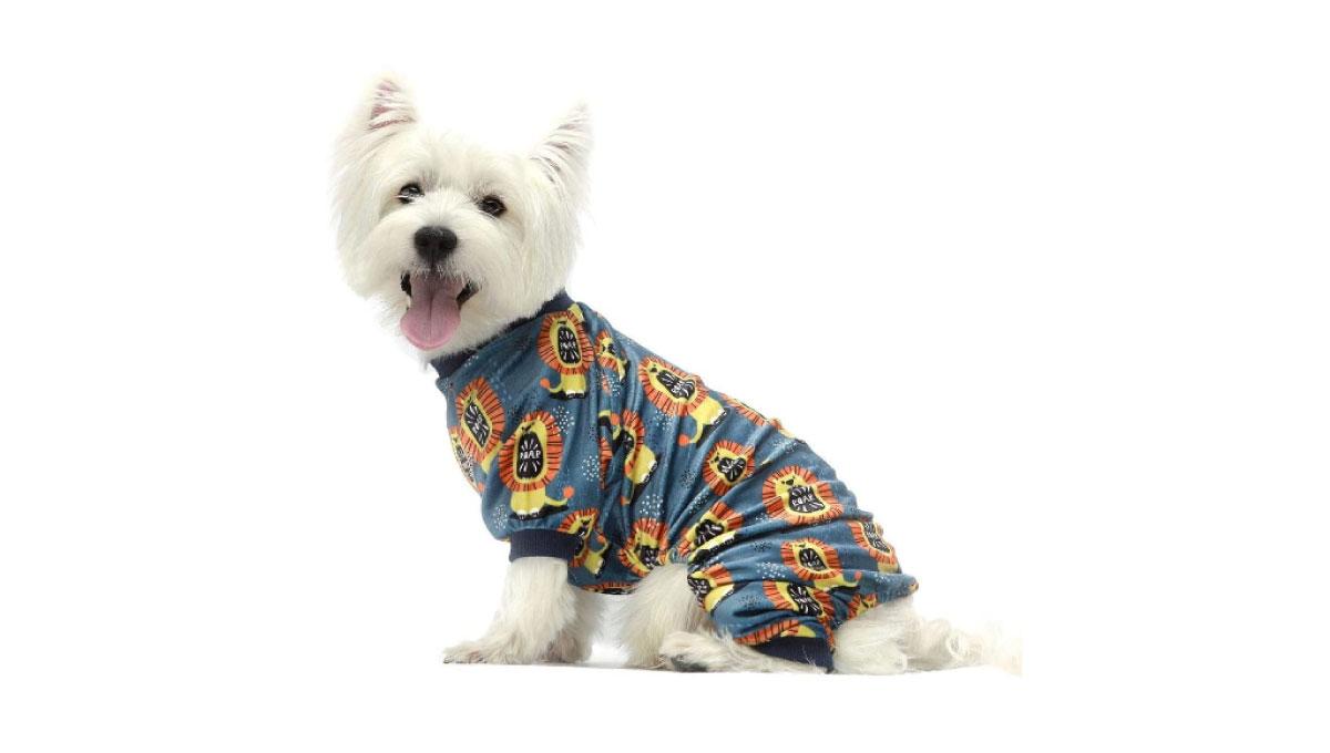 Fitwarm-Roar-Lion-Dog-Pajamas