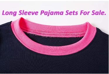Long Sleeve Pajama Sets For