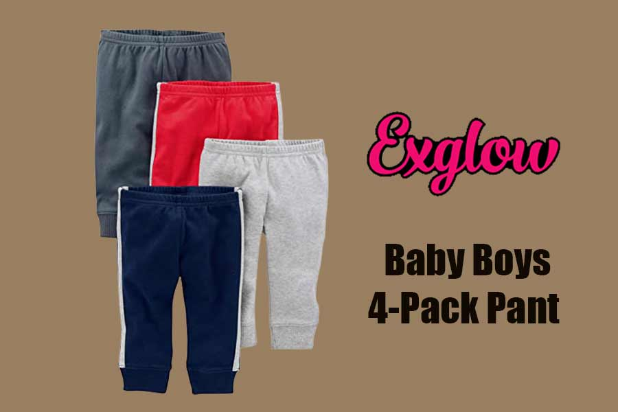 Baby Boys 4-Pack Pant