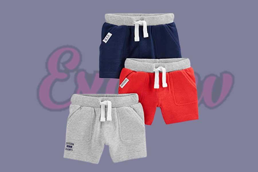Boys Multi-Pack Knit Shorts
