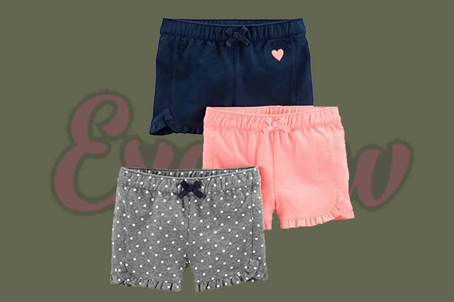 Girls 3-Pack Knit Shorts