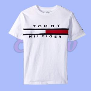 Boys Short Sleeve Tommy Flag T-Shirt