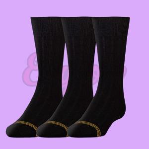 Boys Wide Rib Dress Crew Socks