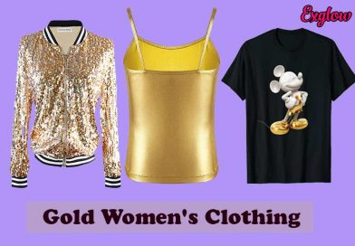 Gold Womens Clothing