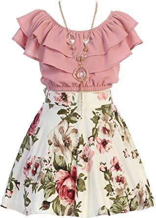 Top Flower Girl Skirt Sets for Girl 1