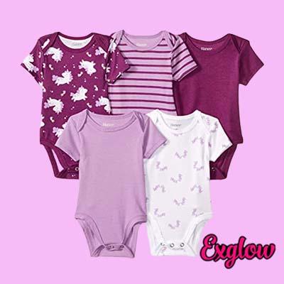 Unisex baby Ultimate Baby Flexy Short Sleeve Bodysuits