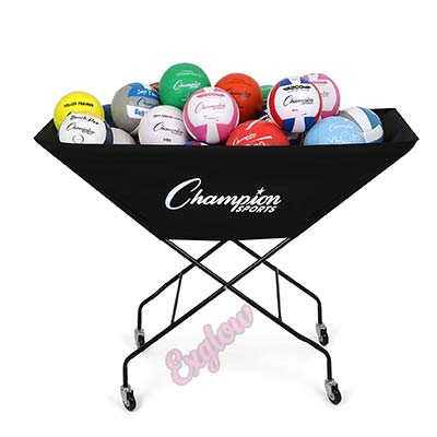 Volleyball Cart with Wheels