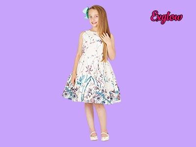 Little Girls' White Dresses
