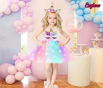 Girls Lighted Tutu Dress