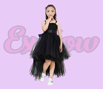 girls Black tutu dress