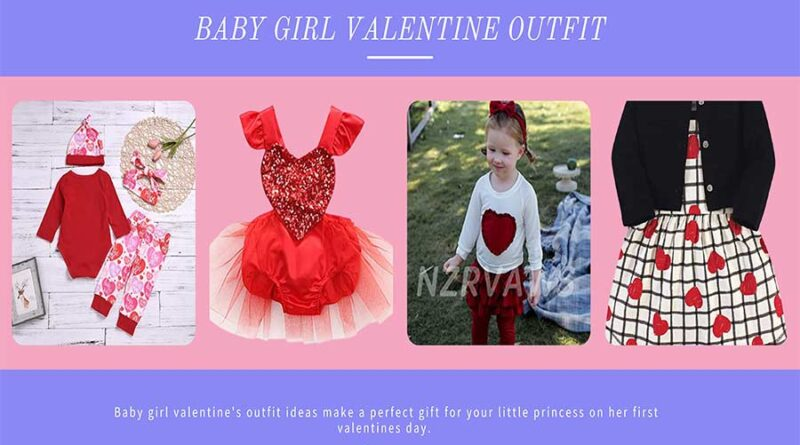 Baby Girl Valentine Outfit